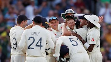Ashes: England win fifth Test at the Oval to draw series