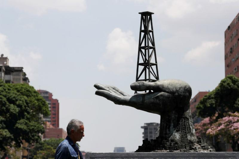 Venezuela's oil exports sink to 17-year low, choked by U.S. sanctions