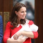 Kate Middleton Gave Off Major Princess Diana Vibes at Her First Appearance With the Royal Baby