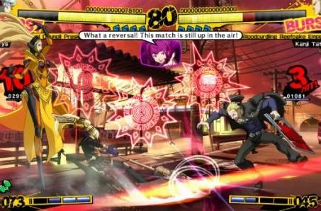 Persona 4 Arena bashes Europe May 10