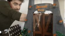 Daniel Radcliffe is quarantining with a 3,200-piece Jurassic Park Lego set that can keep kids occupied for days