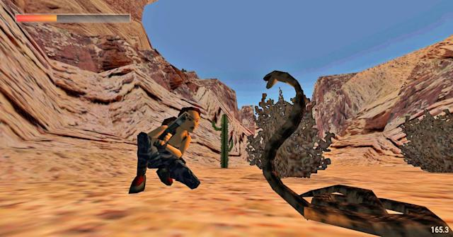 Fans resurrect 'Tomb Raider' in your web browser