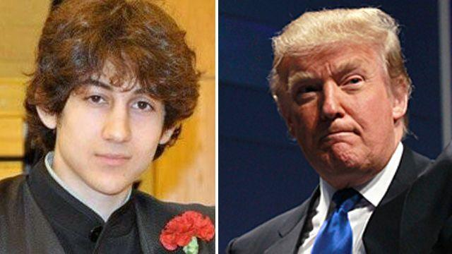 Donald Trump calls for death penalty for marathon suspect
