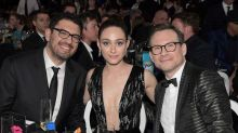 Christian Slater Plays With Puppies as a Wedding Gift to Emmy Rossum and Sam Esmail