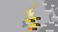 Met Office issues amber warning of 'danger to life' as Storm Ciara brings gales and heavy rain
