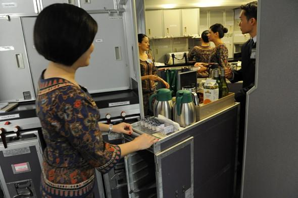 """<p>We never knew breakfast on a plane could be so dangerous but <a href=""""http://travel.aol.co.uk/2013/05/30/12-people-injured-singapore-airlines-plane-plunges-during-breakfast/"""" target=""""_blank"""">12 passengers on a Singapore Airlines flight to London suffered minor injuries when the plane suddenly plunged 30 metres during their morning meal</a>. Passengers posted photos of the messy scene on social media sites, with breakfast trays strewn all over the floor and coffee splattered on the ceiling. The plane was hit by turbulence during the food service two hours into the flight and medical personnel attended those injured on arrival at Heathrow Airport. The passengers received a box of chocolates as they passed through arrivals.</p>"""