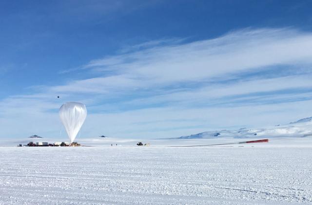 NASA's Antarctica balloons will study cosmic rays and neutrinos