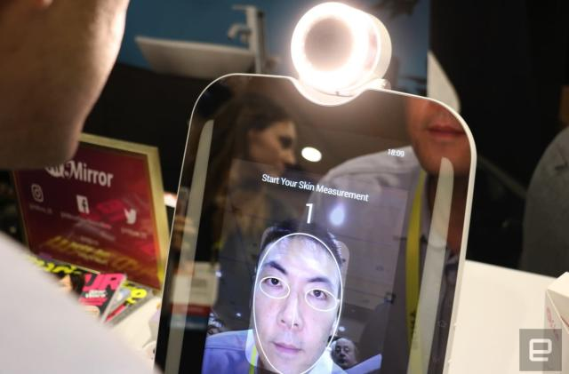 The first available smart mirror has a narcissistic sequel
