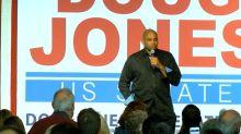 Charles Barkley at Doug Jones rally in Alabama