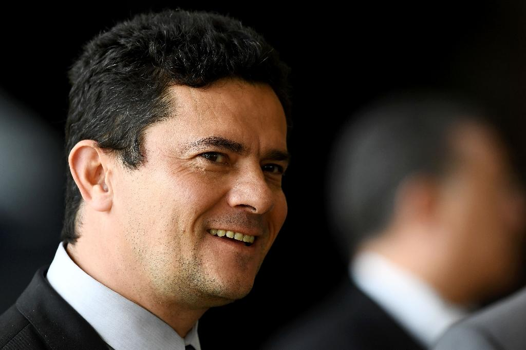 Sergio Moro won national fame as a crusading anti-corruption judge. Now he'll be justice minister (AFP Photo/EVARISTO SA)