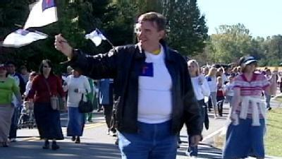 Christian Flag March Draws Thousands