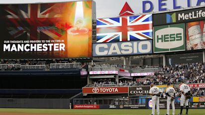 How the Yankees honored the victims of Manchester bombing