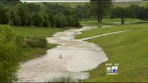 Golfers Play Around Flooded Courses Near Lake Lewisville