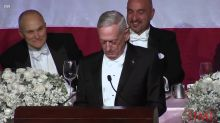 I Guess I'm the Meryl Streep of Generals.' James Mattis Takes Shot at Trump After President Called Him 'Overrated'