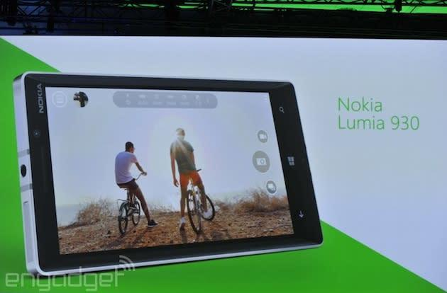 Nokia announces the Lumia 930, a 5-inch phone with a 20-megapixel PureView camera