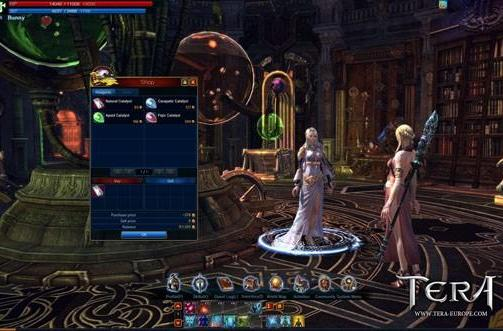 TERA beta videos show crafting, enchanting, Elin creation