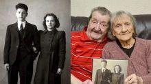 Casal que se conheceu em abrigo na Segunda Guerra comemora 75 anos de casamento