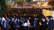 Thousands of ultra-Orthodox Israelis protest Sabbath tramway work