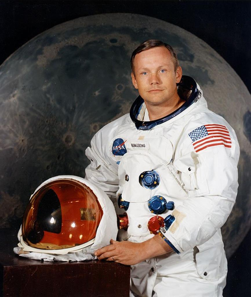 Neil Armstrong, pictured in an undated NASA handout photo, became the first man to set foot on the moon (AFP Photo/NASA)