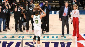 Celtics' Tatum shines in NBA Skills Challenge