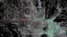 Huge mass triggers weather radar – but it's not what it seems