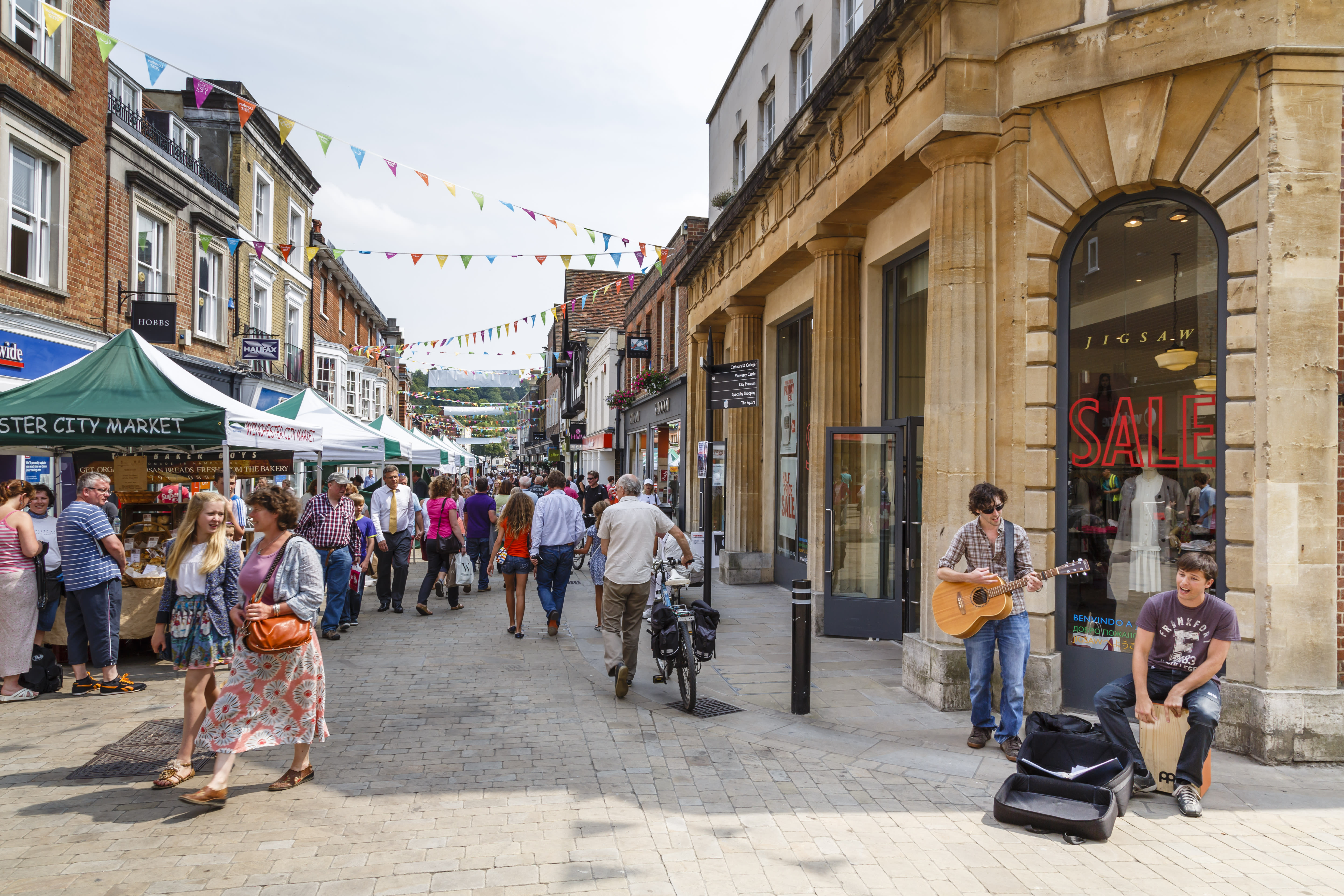 English high streets to receive £95m regeneration boost