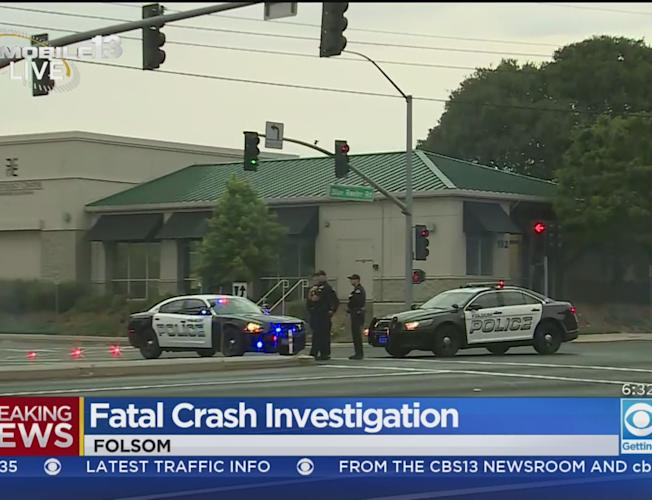 Police Investigating Deadly Accident In Folsom