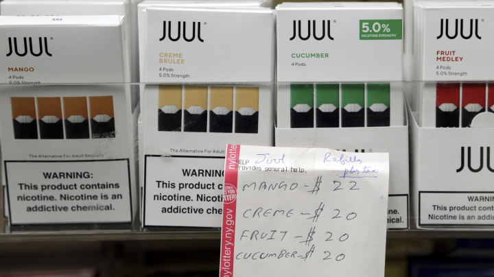 Juul hit with first wrongful death lawsuit