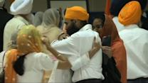 Prayer service for victims of Sikh Temple shooting