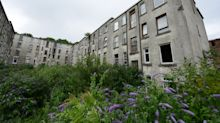In pictures: Inside the Scottish 'mini Beirut' ghost town where only 20 people live in 430 flats