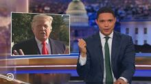 Trevor Noah actually agrees with something Donald Trump said
