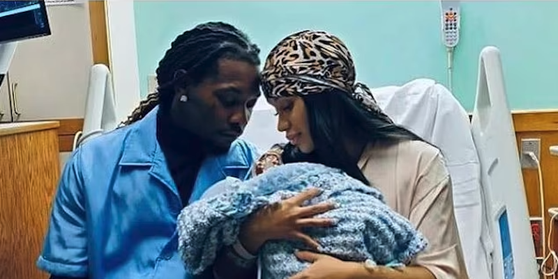 Photo of Cardi B Gives Birth to a Baby Boy