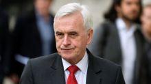 UK Labour must back second Brexit referendum after EU vote: McDonnell