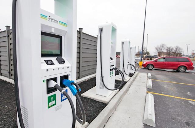 Electrify America's high-powered EV charging stations are back online