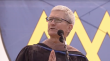 'I will never stop being grateful': Apple CEO Tim Cook cites Stonewall riots at Stanford graduation
