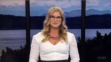 Canadian news anchor hits back after being criticized for showing 'too much cleavage'