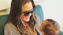 Chrissy Teigen's Daughter Luna Has the Giggles -- See the Adorable Video!