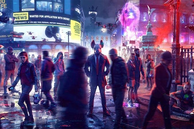 'Watch Dogs: Legion' characters