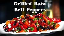 Grill Next Door: Grilled Baby Bell Peppers