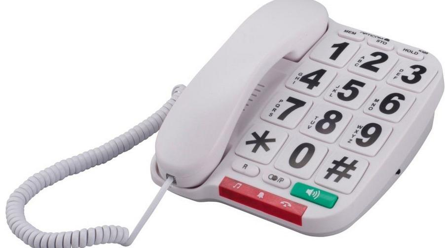 """It won't be the most beautiful gift you buy this year, but it might be the most practical. This big button phone is just <a href=""""http://www.argos.co.uk/product/5523850"""" target=""""_blank"""">£11.49</a> from Argos and is ideal for grandparents who are fed up with fiddling around with small buttons every time they want to make a call."""