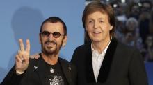 Beatles Ringo Starr, Paul McCartney Reunite in Studio