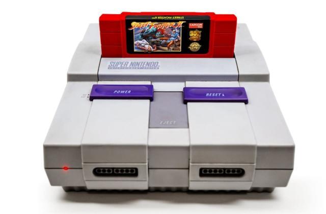 Capcom to re-release $100 'Street Fighter II' SNES cartridges