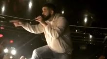 Drake stops concert mid-song to threaten male fan groping women in the crowd: 'I'll f*** you up'