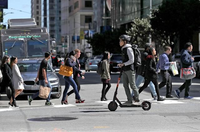 San Francisco proposes rules to fight its electric scooter epidemic