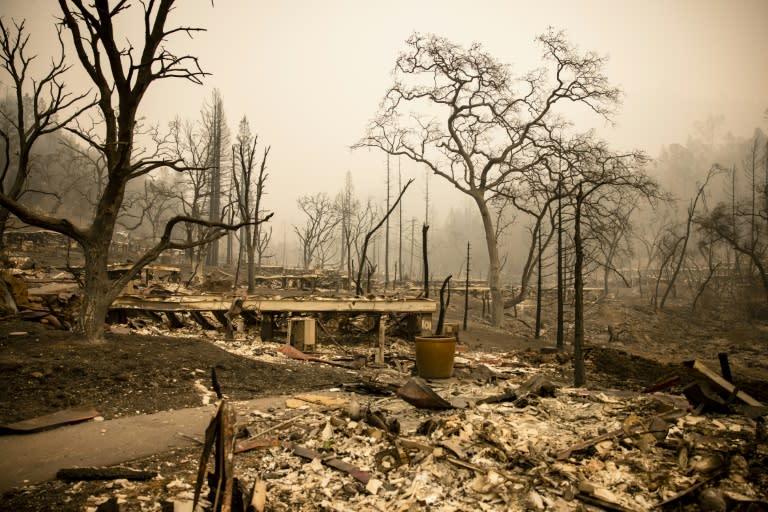 Calif. wildfires turn beloved Napa wine spots to ash