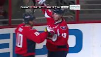 Nicklas Backstrom scores five-hole