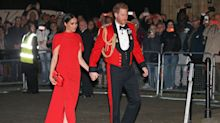 Duke and Duchess of Sussex get standing ovation at Mountbatten Festival of Music