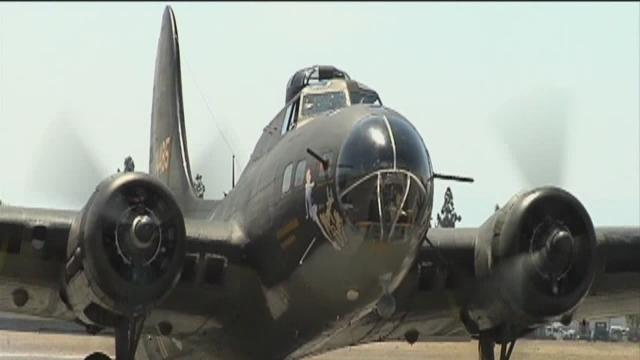 World War II B-17 visits Bakersfield