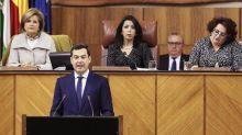 Moreno apuesta por una transición en Andalucía tras el dominio del PSOE