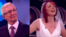 A contestant wore a wedding dress on Blind Date